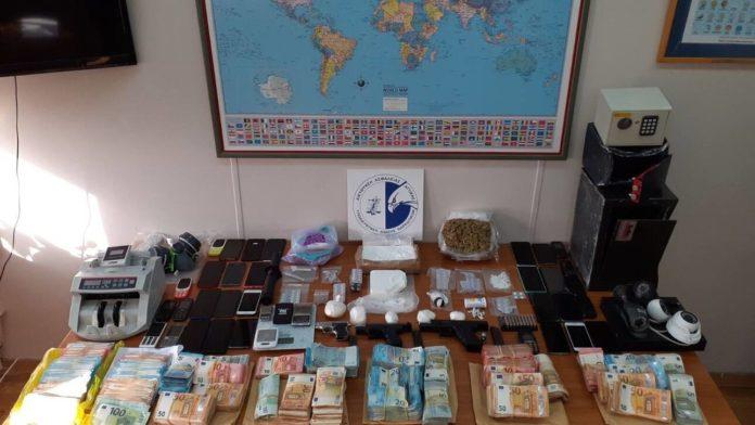 ποινική δίωξη κύκλωμα ναρκωτικών